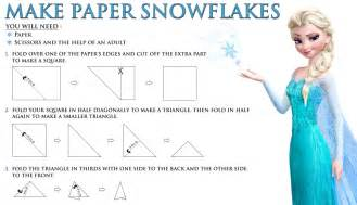 Frozen Snowflake Templates by Disney S Frozen Free Printable How To Make A Paper Snowflake