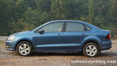2016 skoda rapid side review indian autos