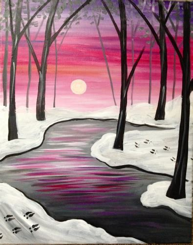 paint nite pittsburgh deer tracks at fox and hound paint nite