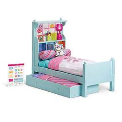 american doll bed can you tell what s more expensive doll furniture or real