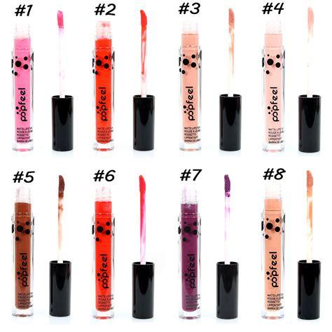 Kissbeauty Liquid Lipgloss popfeel lip gloss matte lipstick makeup water proof liquid cosmetics