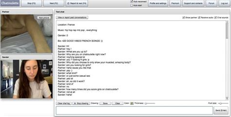 chatroulette web cam i asked some people on chatroulette why they are still on
