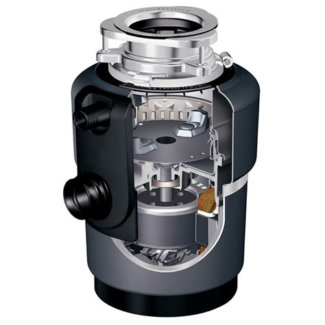 Compact Garbage Disposal Sink by Insinkerator Compact Evolution Stainless Steel Garbage