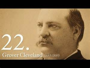 in color cleveland 22nd president of the united states grover cleveland