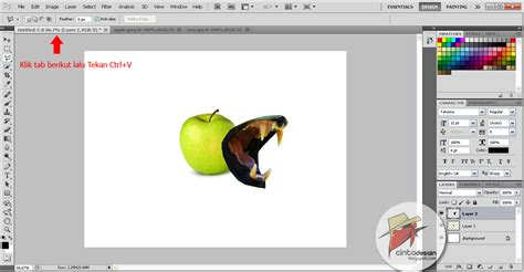 tutorial gambar singa tutorial foto manipulasi buah apel bams photograph
