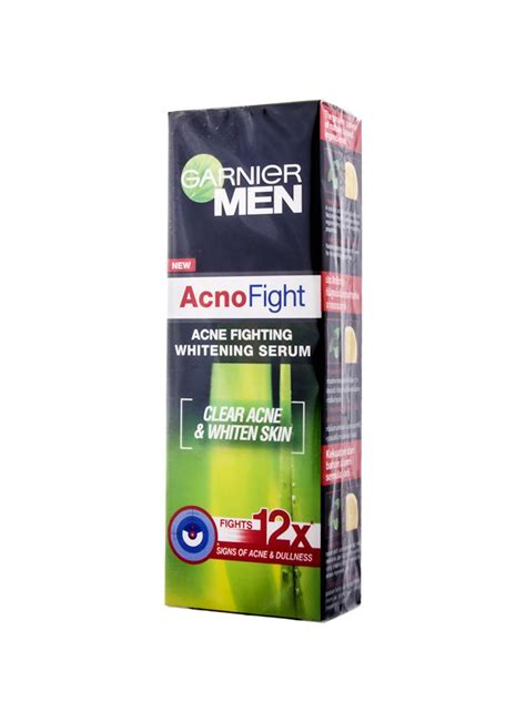 Garnier 20ml garnier acno fight whitening serum tub 20ml