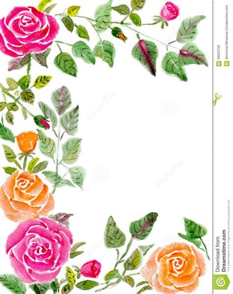 Kã Ndigen Brief Prentbriefkaar Stock Illustratie Afbeelding Bestaande Uit Frame 59033759