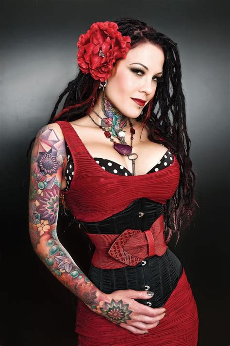 the cover model amanda west big tattoo planet