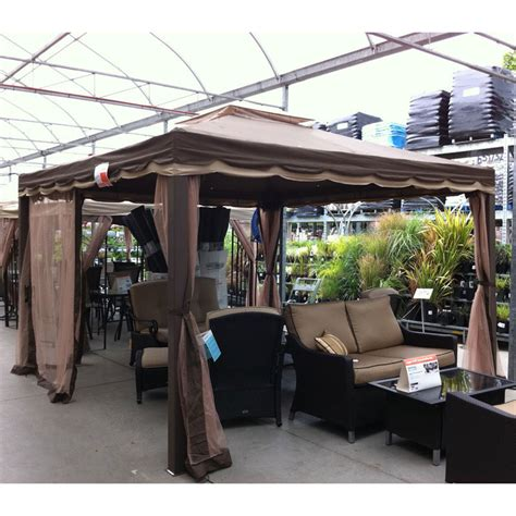 gazebo house home depot yada 12 x 12 gazebo e2720 garden winds canada