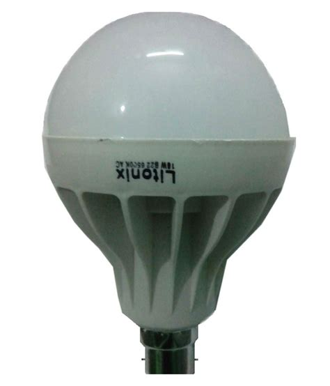 Lu Led Downlight 18 Watt litonix white 18 watt led light pack of 5 buy litonix