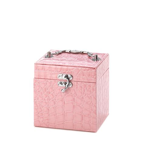 Cheap Jewelry Armoire Wholesale by Wholesale Stylish Pink Jewelry Box Buy Wholesale Jewelry