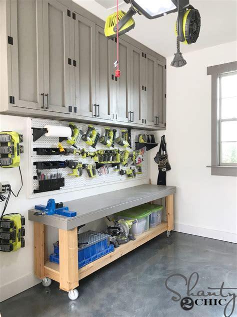 Diy Cupboard Shelves - diy cabinets for a garage workshop or craft room