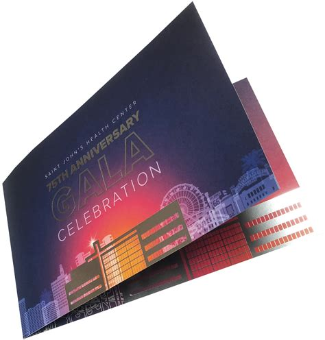 4 color print invitation postcard foil st digital 4 color print