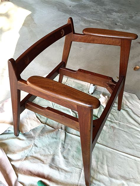 Diy Chair Restoration by Mid Century Modern Chair Restoration House Of Hawthornes