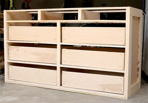 Build A Dresser by How To Build A Dresser