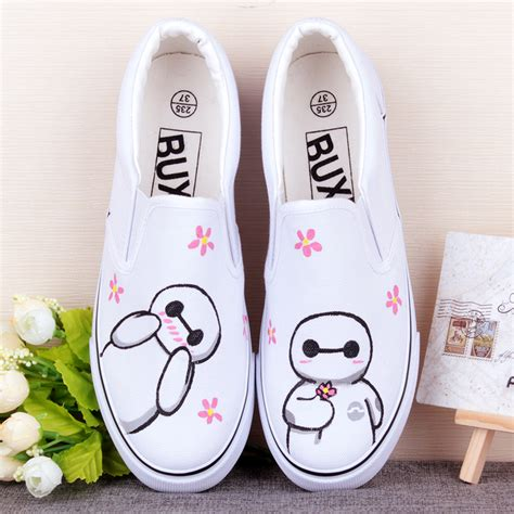 Sandal Baymax 2 baymax printing for canvas shoes on luulla