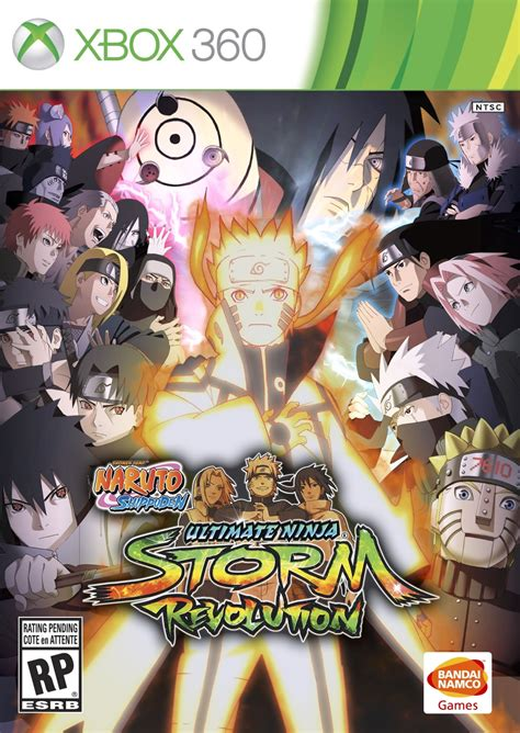 Ultimate Revolution jaquettes shippuden ultimate revolution