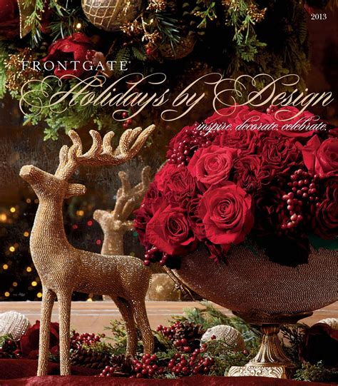 frontgate holidays  design  catalog  amy howell hirt issuu
