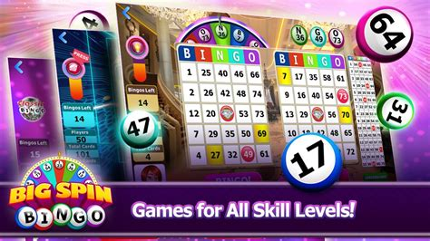 free bingo for android big spin bingo free bingo android apps on play