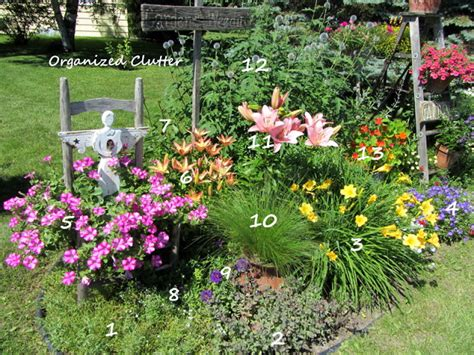 Urban Plantscapes Cottage Garden With Plant Key Urban Planting A Cottage Garden