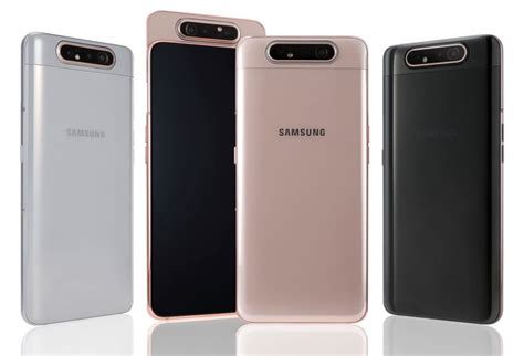 Samsung Galaxy A80 6gb Ram Price In India by Samsung Galaxy A80 With 6 7 Inch Fhd Amoled Infinity Display Snapdragon 730g Rotating