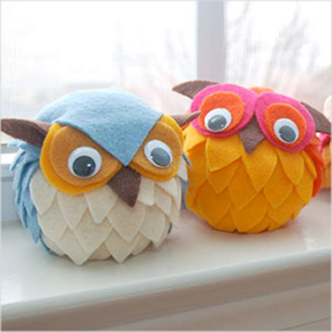 Handmade Owl - 30 adorable owl craft ideas for your next project page