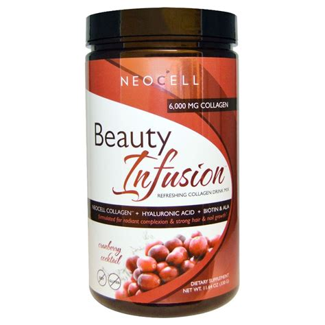 Cranberry Collagen 5000mg b盻冲 neocell collagen infusion 5000mg h豌譯ng m蘯 n vi盻