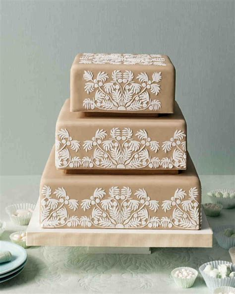Wedding Cake Quilting by Quilted Wedding Cakes Martha Stewart Weddings