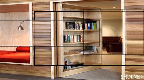 Blueprints For Houses by Hidden Door For Home Design Secret Door With Cabinets