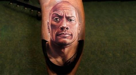 Dwayne Johnson Face Tattoo | the internet s craziest tattoos of the rock muscle fitness