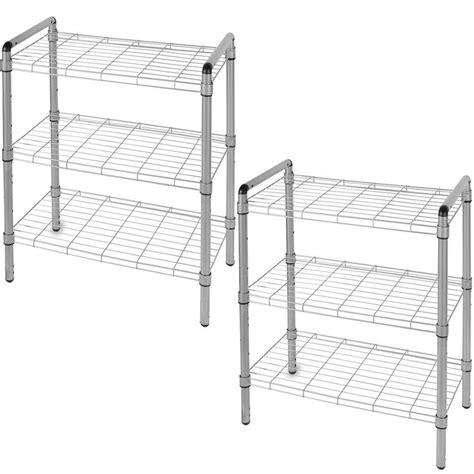 the art of storage 23 in 3 tier quick rack adjustable