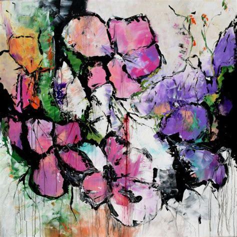 fiori da dipingere su tela oltre 25 fantastiche idee su fiore dipinto su tela su