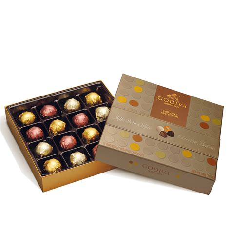 Godiva Gift Card Balance - 16 pc chocolate bonbons gift box godiva