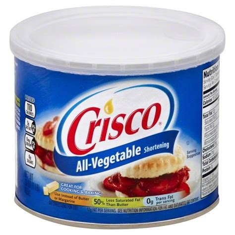 Crisco All Vegetable Shortenin 453gr crisco all vegetable shortening hy vee aisles grocery shopping
