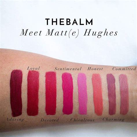 Lipstik The Balm Matte the balm meet matte hughes lasting liquid lipstick purple cosmetic wholesale sdn bhd