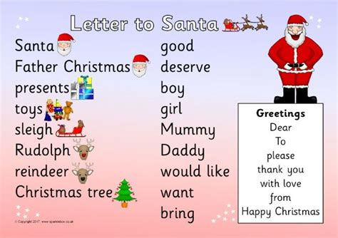 letter to santa template sparklebox 164 best christmas teaching resources images on pinterest