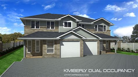 dual occupancy home design tullipan homes