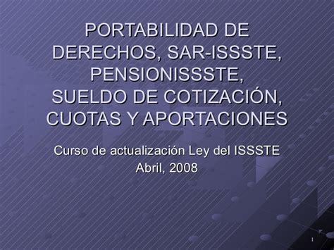Portabilidada Issste Imss   portabilidad imss issste