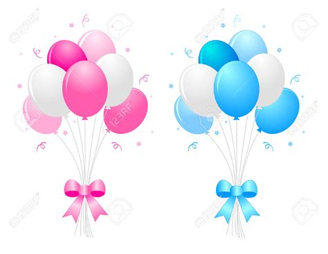 clipart palloncini balloon clipart ribbon pencil and in color balloon