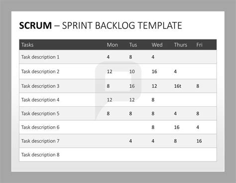 scrum sprint template 68 best ideas about scrum powerpoint templates on
