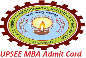 Mba Cet 2017 Admit Card by Upsee Mba Admit Card 2017 Mba Entrance Ticket