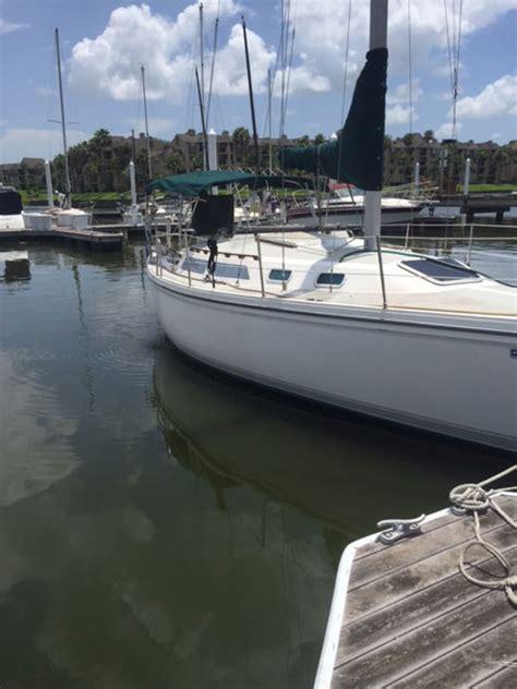 sailboats kemah catalina 30 1987 kemah texas sailboat for sale from
