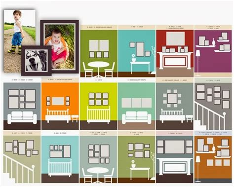 photo wall layout tool 65 plus photo gallery wall layout ideas page 3 of 4