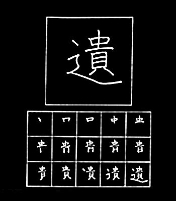 Belajar Menulis Hiruf Han 4 12 Guratan belajar menulis kanji jepang 80 異遺域宇映延沿我灰拡 belajar bahasa jepang bersama