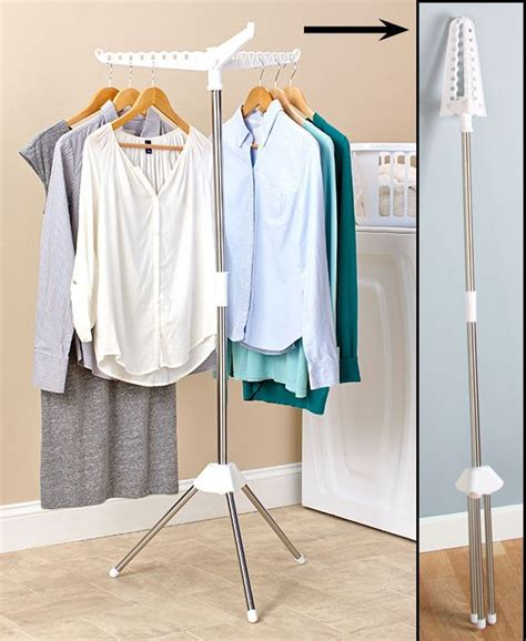 Hanging Laundry Rack by 25 Best Ideas About Hanging Clothes Racks On