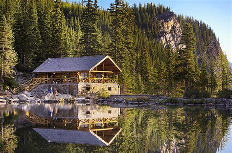 fondos de pantalla canada parque lago montanas bosques