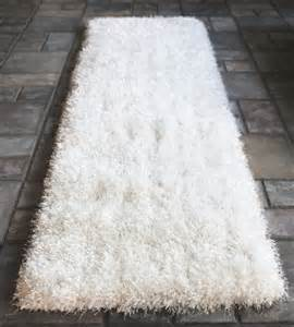 Shaggy Runner Rug Buy White Shaggy Shag Area Runner Rug 7 X 2 High End Designer Quality Carpet Bedroom Bathroom