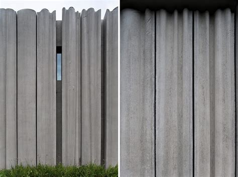 concrete curtain wall bcho architects concrete curtain visitor center in korea