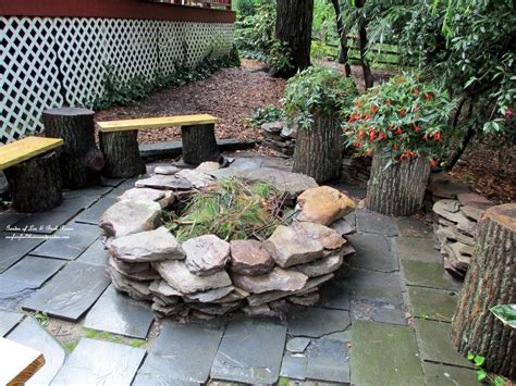 Hometalk Build Your Own Fire Pit Our Fairfield Home Make Your Own Firepit