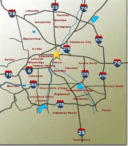 map of denver colorado area denver and surrounding area pictures to pin on